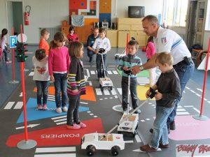 Sécurité routière en école par la Police municipale - www.tousenroute.com