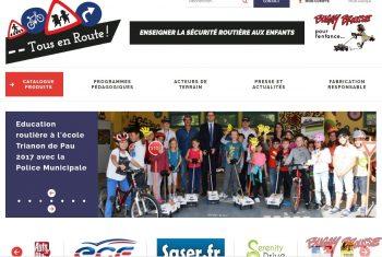 Image d'accueil du site www.buggybrousse.com