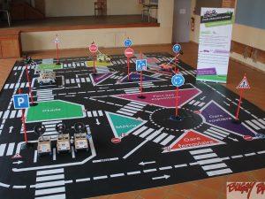 Circuit d'éducation routière école démontable 48m2 - www.tousenroute.com