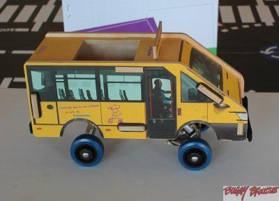 Car scolaire jouet pédagogique pour l'éducation routière -www.buggybrousse.com