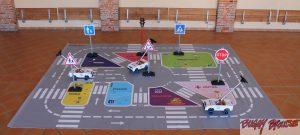 Circuit d'éducation routière maternelle 20m2 - www.tousenroute.com