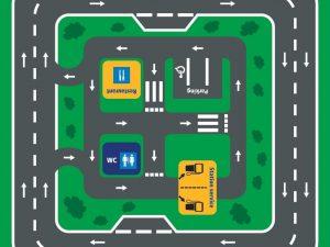 Circuit Autoroute 36m² www.tousenroute.com