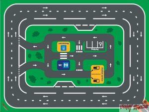Circuit Autoroute 48m² - www.tousenroute.com