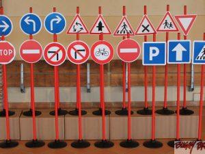 Jeu de 20 panneaux pour circuits velos - www.tousenroute.com