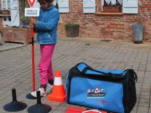 Rangement des équipements pour circuit velo - www.tousenroute.com