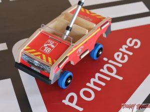 Voiture jouet pédagogique Pompiers - www.buggybrousse.com