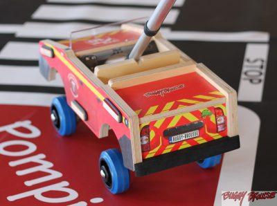 Voiture jouet pédagogique Pompiers – www.buggybrousse.com