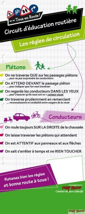 Totem pédagogique sécurité routière Tous publics - www.tousenroute.com