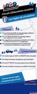Totem pédagogique sécurité routière bleu Police municipale - www.tousenroute.com
