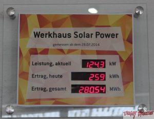 Fabrication ecologique solar power 2