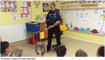 2015 Prévention routière à l'école maternelle - 20_06_2015 - ladepeche buggybrousse.com