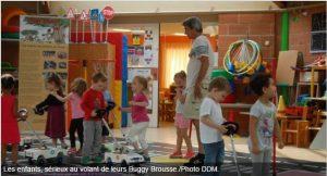 2016 06 Bessière - ladepeche - Sécurité routière à l'école de l'Estanque - photo buggybrousse.com