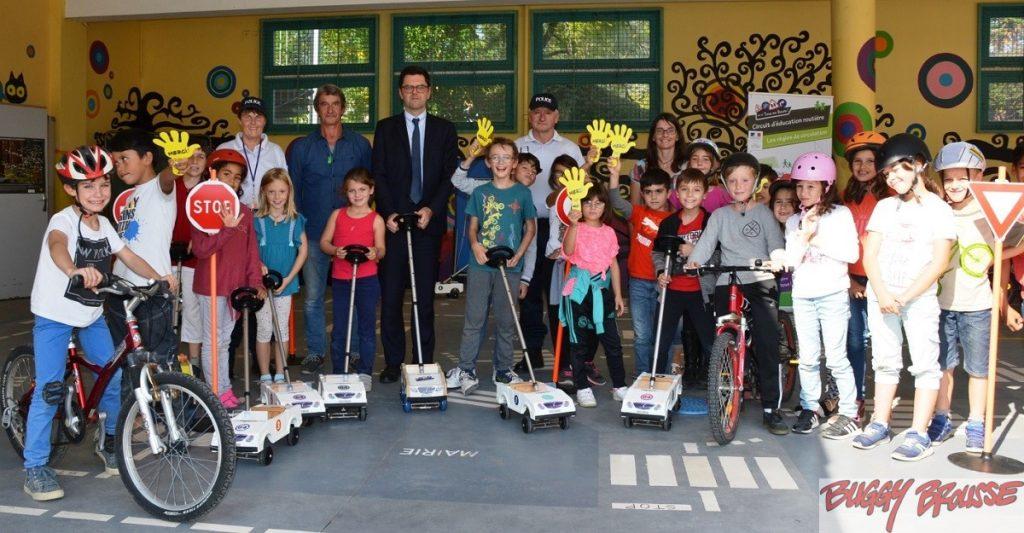 Education routière Ecole Pau 2017