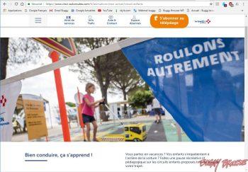 Site VINCI Autoroutes étapes estivales 2018 Buggy Brousse.com