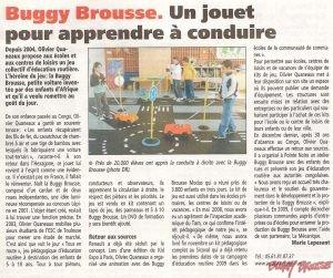 Journal des entreprises 02-2009 buggybrousse.com