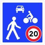 Panneau Zone de rencontre - B52
